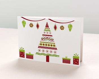 Carte de vœux particulier - Festivités de Noël - 1