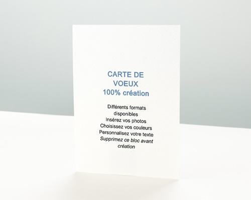 Carte de vœux particulier - Voeux créatif