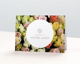 Calendrier entreprise Fleuriste