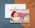Carte de vœux particulier - Boules colorées
