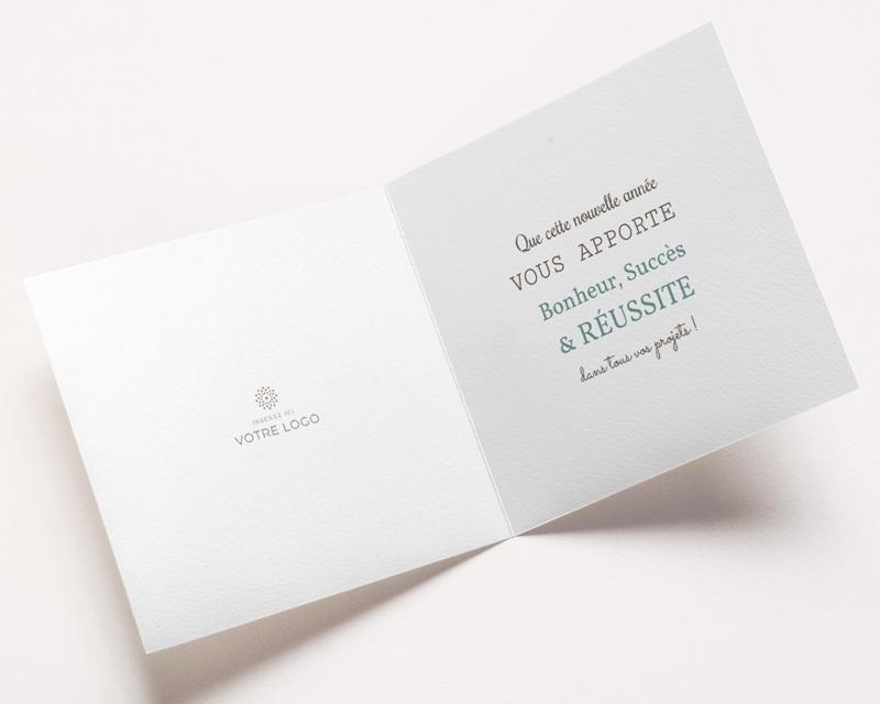 Carte de Voeux Entreprise Année scotchée pas cher