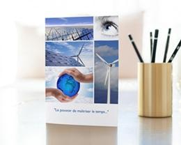 Carte de Voeux Entreprise Photos personnalisées gratuit