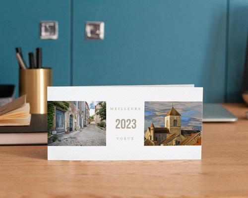 Carte de Voeux Entreprise Mer et Voyage gratuit