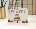 Carte de vœux particulier - Sapin et Cadeaux originaux
