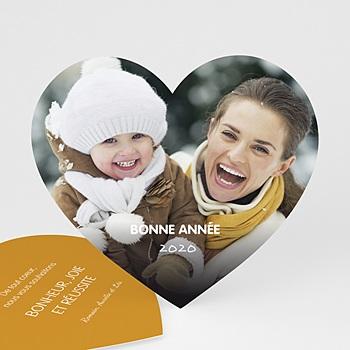 Carte de vœux particulier - Voeux d'amour - 0