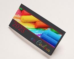 Carte de Voeux Entreprise En couleur