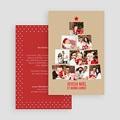Carte de vœux particulier - Sapin de Photos