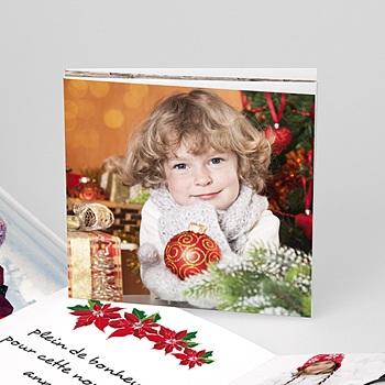 Carte de vœux particulier - 1,2,3 et 4  Souhaits - 1