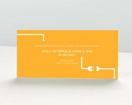 Carte de Voeux Entreprise Connexion pas cher