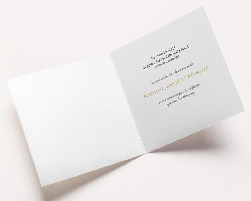 Carte de Voeux Entreprise Best Wishes pas cher
