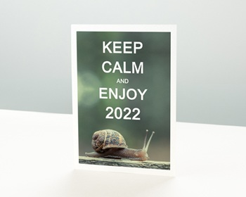 Carte de Voeux Entreprise 2021 Keep Calm