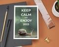 Carte de Voeux Entreprise Keep Calm gratuit