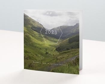 Carte de Voeux Entreprise 2021 Paysage