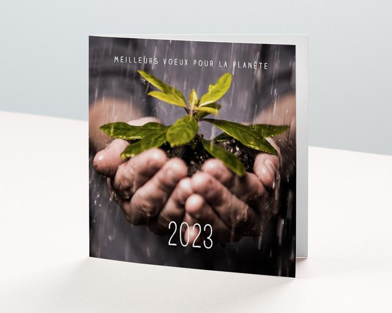 Carte de Voeux Entreprise Eco Friendly