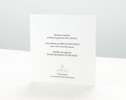 Carte de Voeux Entreprise Couronne de Noël pas cher