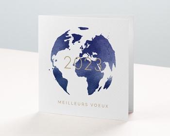 Carte de Voeux Professionnelle 2021 Monde entier