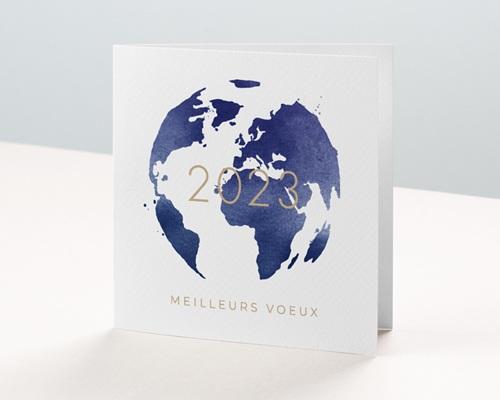 Carte de Voeux Entreprise Monde entier