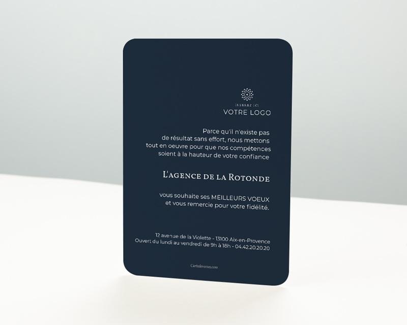 Carte de Voeux Entreprise Esprit Sportif pas cher