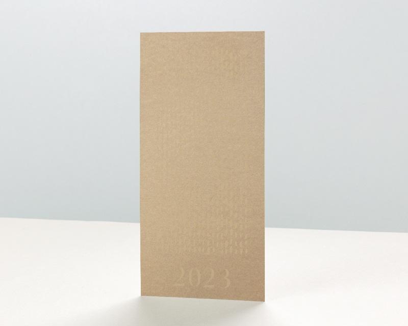 Carte de Voeux Entreprise Pluie d'or