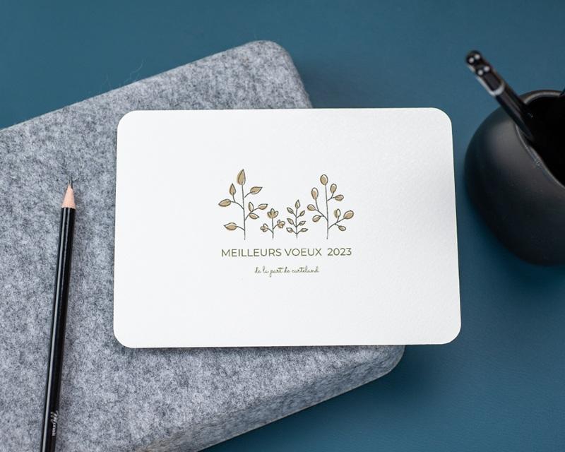 Carte de Voeux Entreprise Joie gratuit