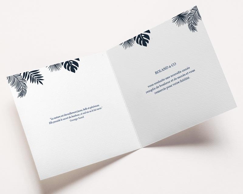 Carte de Voeux Entreprise Toucans pas cher