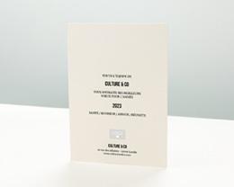 Carte de Voeux Entreprise Nouvel An Pastel pas cher