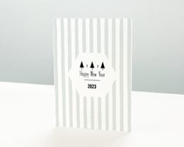 Carte de Voeux Entreprise Douce Année