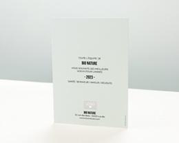 Carte de Voeux Entreprise Douce Année pas cher