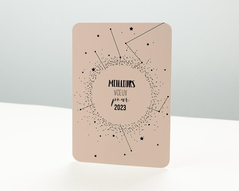 Carte de Voeux Entreprise Constellation