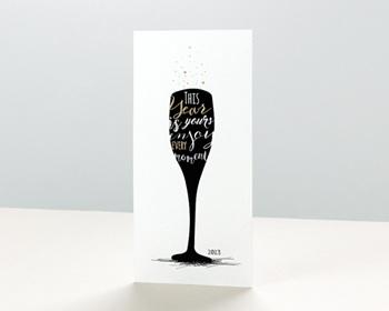 Carte de voeux entreprise - À la nouvelle année ! - 0