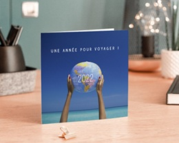 Carte de Voeux Entreprise Voyage ! gratuit