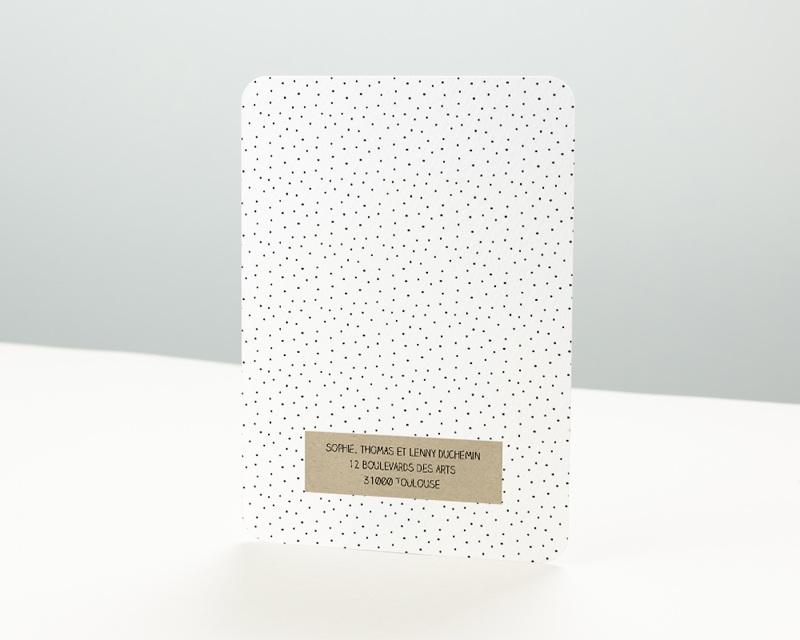 Carte de vœux particulier Flashback pas cher