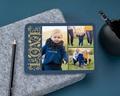 Carte de vœux particulier - Love Doré
