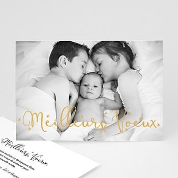 Carte de vœux particulier - Calligraphie - 0