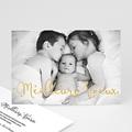 Carte de vœux particulier - Calligraphie