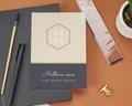 Carte de Voeux Entreprise - Hexagone