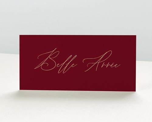 Carte de Voeux Entreprise - Vins et champagnes
