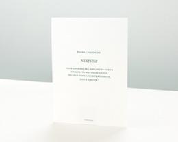 Carte de Voeux Entreprise Millésime vert pas cher