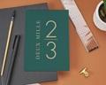 Carte de Voeux Entreprise Millésime vert gratuit
