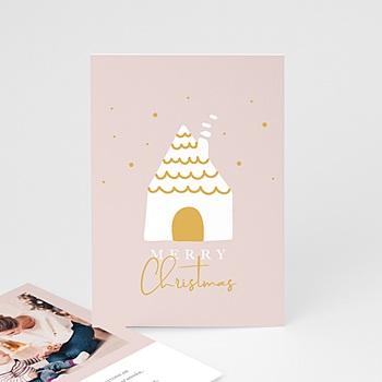 Carte de vœux particulier - Doux Foyer - 0
