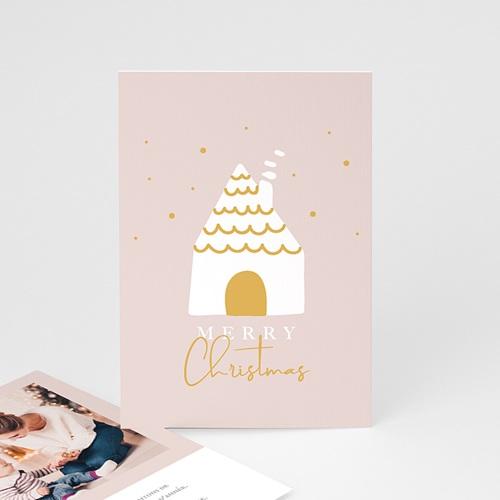 Carte de vœux particulier - Doux Foyer