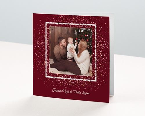 Carte de vœux particulier - Pétillante
