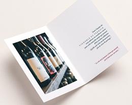 Carte de Voeux Entreprise Métiers du vin pas cher