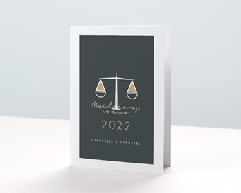 Carte de Voeux Juriste