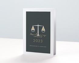 Carte de Voeux Entreprise Avocats et Juristes