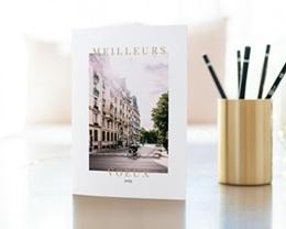 Carte de Voeux Entreprise L'immobilier gratuit