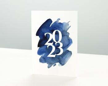 Carte de Voeux Professionnelle 2021 20 sur 20 Simple