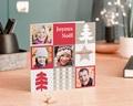 Carte de vœux particulier - Famille en photos