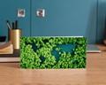 Carte de Voeux Entreprise Oeuvrons pour un monde plus vert gratuit