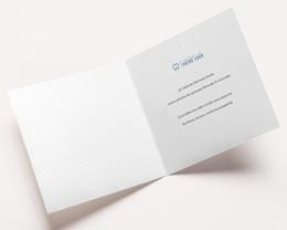 Carte de Voeux Entreprise Dent dorée, sourire de l'année pas cher